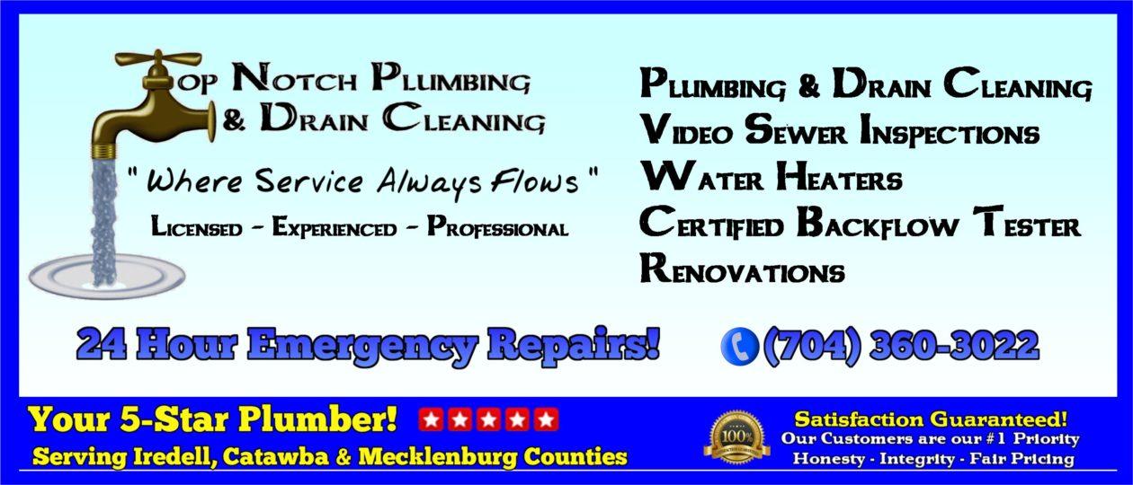 Top Notch Plumbing –  Where Service Always Flows!